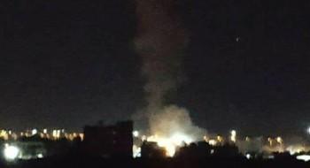 قصف صهيوني علي غزة